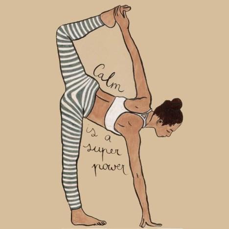 2017 Yoga Calm is a Super Power