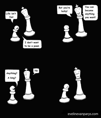 Depressed pawnkopie