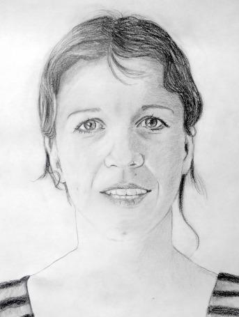 Zelfportret Eveline